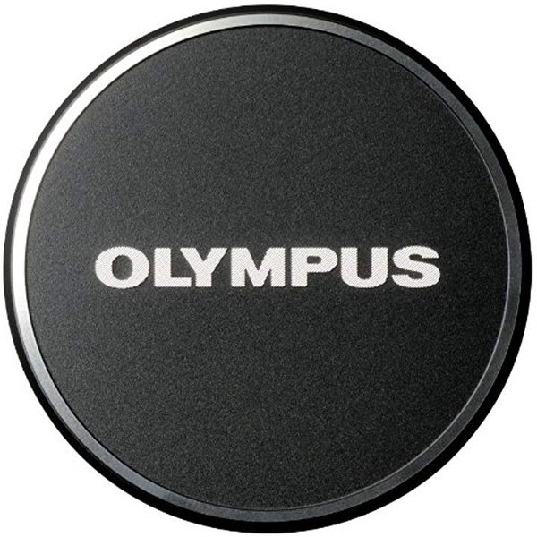 OLYMPUS 金属レンズキャップ マイクロフォーサーズ用 ブラック BLK[LC-48B]