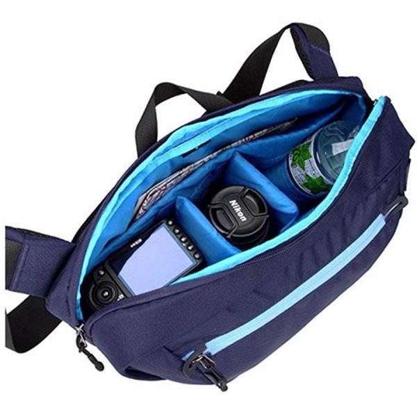 HAKUBA メッセンジャーバッグ LDZIPメッセンジャー M NV 14L ブルー[ネイビー][SLSW-ZMMNV][ハクバ]