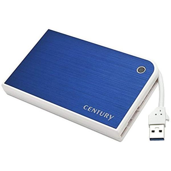 MOBILE BOX USB3.0接続 SATA6G[CMB25U3BL6G](ブルー/ホワイト)