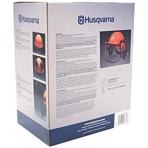 ハスクバーナー プロ フォレスト ヘルメット システム 一式 オレンジ/Pro Forest Helmet System [輸入品]4