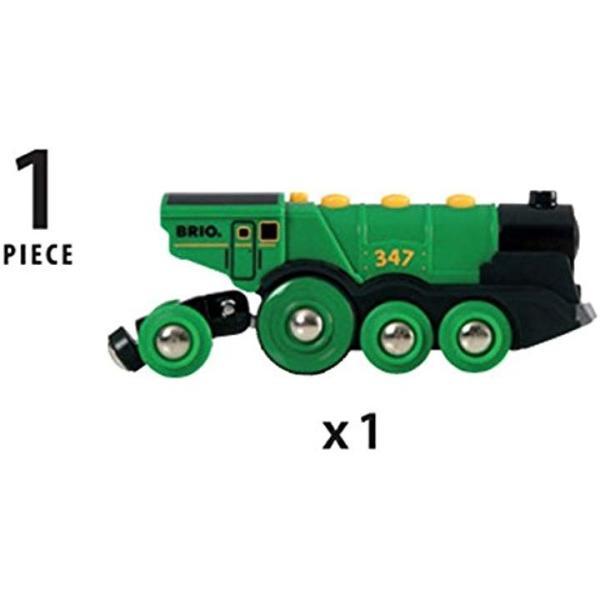BRIO WORLD ビッググリーンアクション機関車 335935