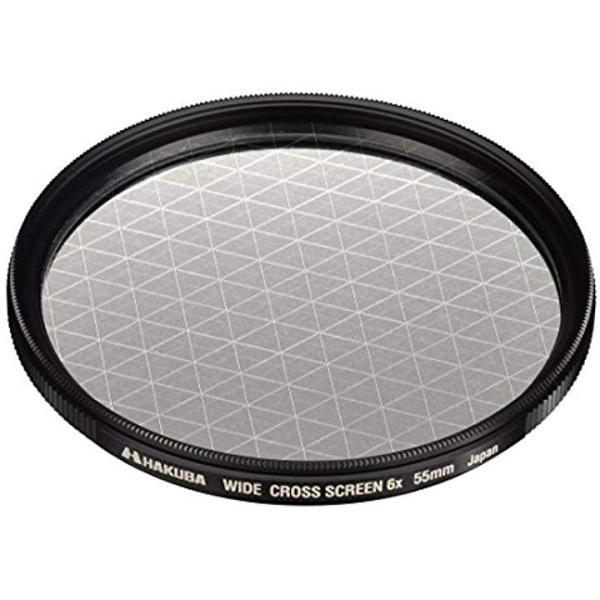 HAKUBA ワイドクロススクリーンフィルター 6×[CF‐WCS655](55mm)
