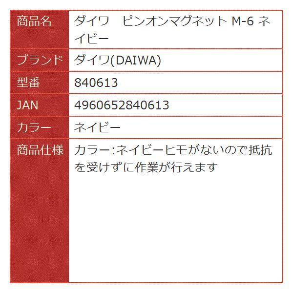 ピンオンマグネット M-6[840613](ネイビー)
