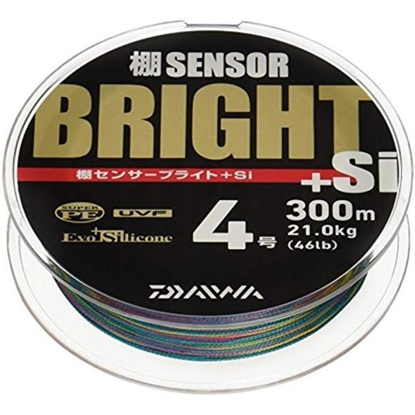 PEライン 棚センサーブライト+Si 300m 4.0号 46lb マルチカラー[マルチ][4号][954501]