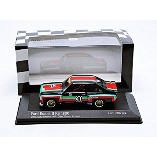PMA 1/43 フォード エスコートII RS 1800 DRM 1976 #30 完成品4