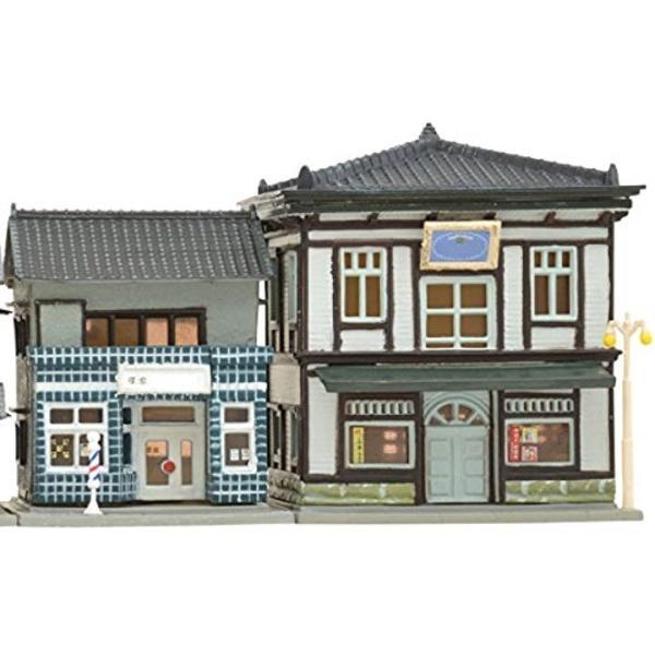 ジオコレ 建物コレクション 046-4 理髪店・写真館4 ジオラマ用品[260745]|horikku