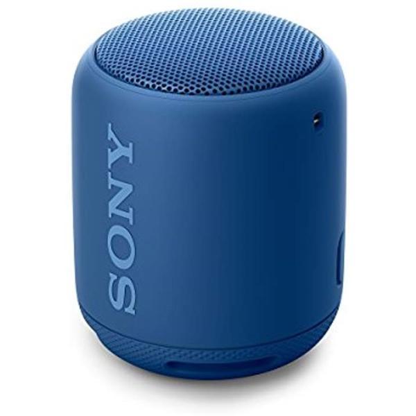 ワイヤレスポータブルスピーカー 重低音モデル SRS-XB10 : 防水/Bluetooth対応[ブルー][SRS-XB10 L]