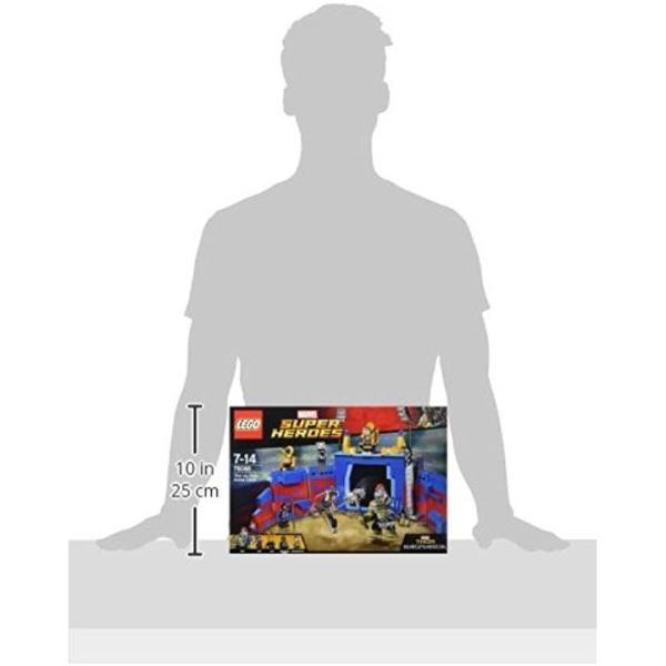 レゴ LEGOスーパー・ヒーローズ ソー vs.ハルクアリーナクラッシュ 7608810