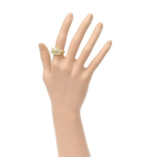 ブルガリ BVLGARI 指輪 ダイヤリング 750YG イエローゴールド #10.5【中古】(33342)(33342)