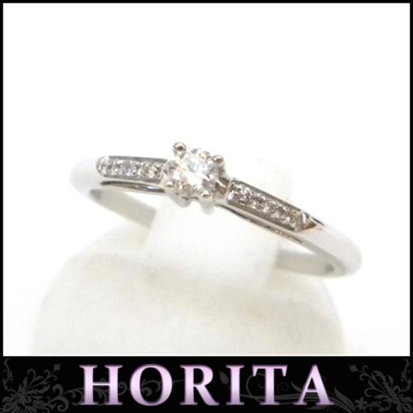モーブッサン 指輪 ダイヤモンドリング  /ホワイトゴールド/750WG【中古】(43118)
