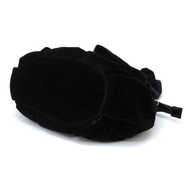 シーバイクロエ SEE BY CHLOE ハンドバッグ ビロード 黒 (46244)