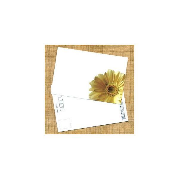 花のポストカード ガーベラ(黄色、インクジェット紙)|horiya-studio