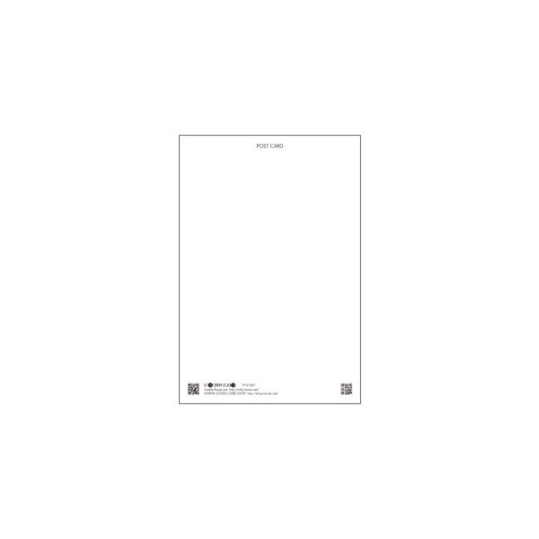 花のポストカード アサガオ(青)|horiya-studio|03