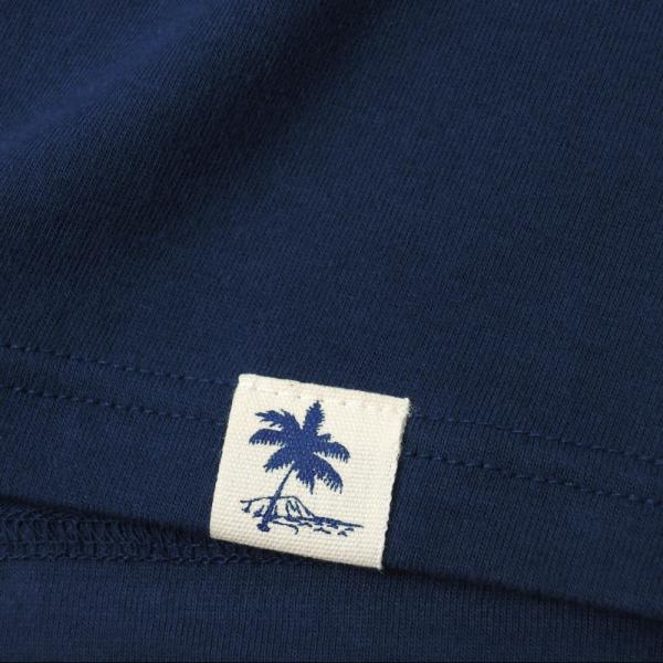 Tシャツ COCO PALM ハワイ ヤシの木 パームツリー サーフ ビーチ 半袖 レディース ホワイト インディゴ HOLIDAZE ホリデイズ|horizonblue|04