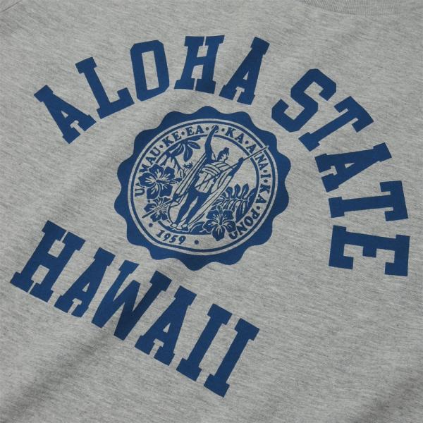 ALOHA STATE HAWAII アロハ ステート ハワイ カレッジTシャツ アメカジ サーフ ブランド メンズ 半袖 HOLIDAZE ホリデイズ horizonblue 03