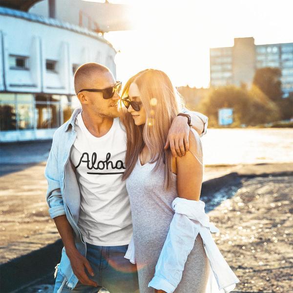 ALOHA アロハ ロゴTシャツ ハワイ ビーチ リゾート サーフ ブランド メンズ 半袖 ホワイト グレー ネイビー HOLIDAZE ホリデイズ|horizonblue|07