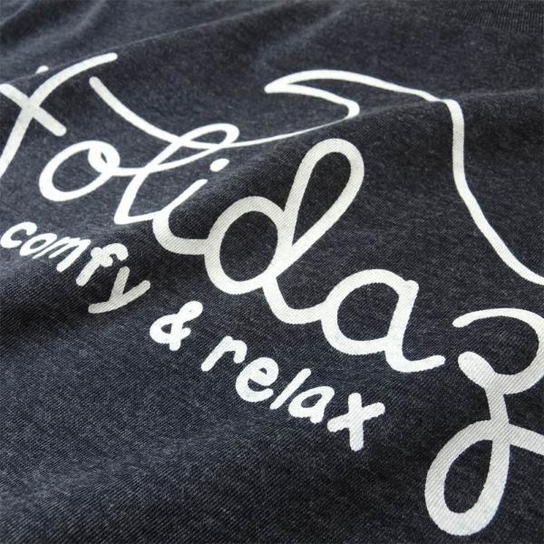 Tシャツ WAVE LOGO ウェーブ 波 サーフ ブランド ビーチ アロハ ハワイ メンズ 半袖 ホワイト ネイビー HOLIDAZE ホリデイズ|horizonblue|03