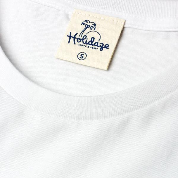Tシャツ WAVE LOGO ウェーブ 波 サーフ ブランド ビーチ アロハ ハワイ メンズ 半袖 ホワイト ネイビー HOLIDAZE ホリデイズ|horizonblue|07