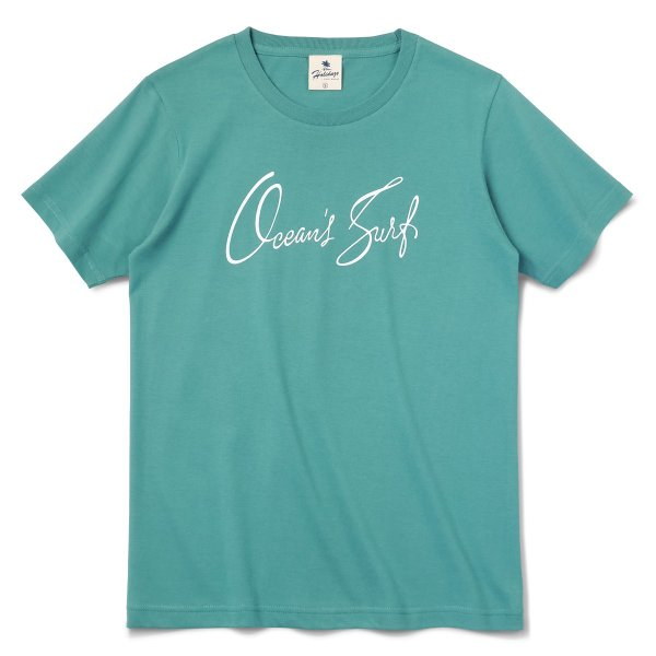 Tシャツ OCEAN'S SURF オーシャン サーフ 半袖 ユニセックス メンズ レディース ホワイト オーシャン チャコール HOLIDAZE ホリデイズ|horizonblue|02