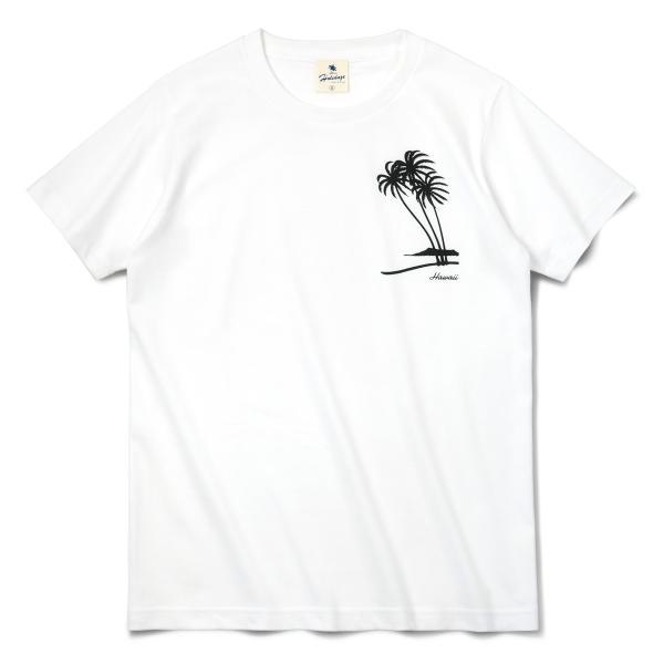 Tシャツ PALM TREE パームツリー ヤシの木 ハワイ アロハ サーフ 半袖 ユニセックス メンズ レディース HOLIDAZE ホリデイズ|horizonblue|02