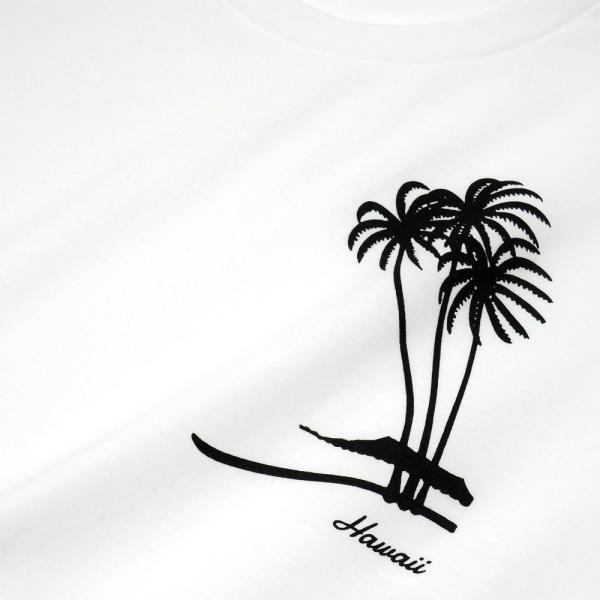 Tシャツ PALM TREE パームツリー ヤシの木 ハワイ アロハ サーフ 半袖 ユニセックス メンズ レディース HOLIDAZE ホリデイズ|horizonblue|03