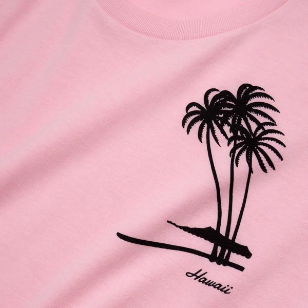 Tシャツ PALM TREE パームツリー ヤシの木 ハワイ アロハ サーフ 半袖 ユニセックス メンズ レディース HOLIDAZE ホリデイズ|horizonblue|05