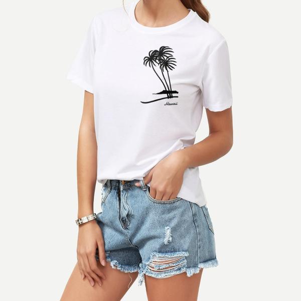Tシャツ PALM TREE パームツリー ヤシの木 ハワイ アロハ サーフ 半袖 ユニセックス メンズ レディース HOLIDAZE ホリデイズ|horizonblue|06