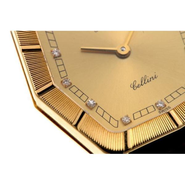 ロレックス チェリーニ ダイヤ L番 手巻 4160 750YG レディース 時計