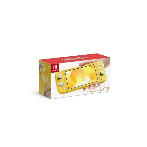 NintendoSwitchLiteニンテンドースイッチライトイエロー新品在庫あり