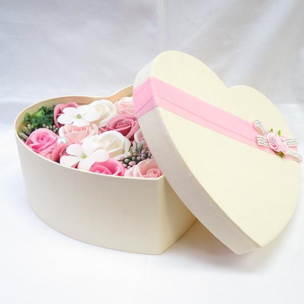 フラワーソープ フラワーギフト バラ 薔薇 プレゼント 花 ハート|hoshinosyounin|09