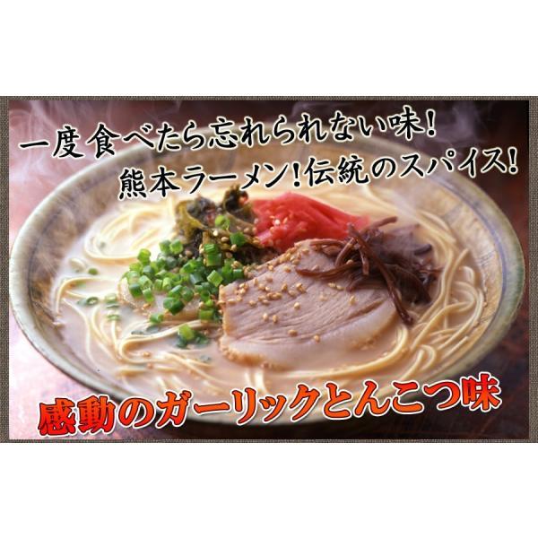 熊本ガーリックとんこつラーメン 4食入|hot-emu|02