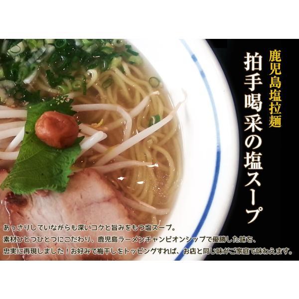 鹿児島塩ラーメン 麺's らぱしゃ 10食入 有名店ラーメン hot-emu 02