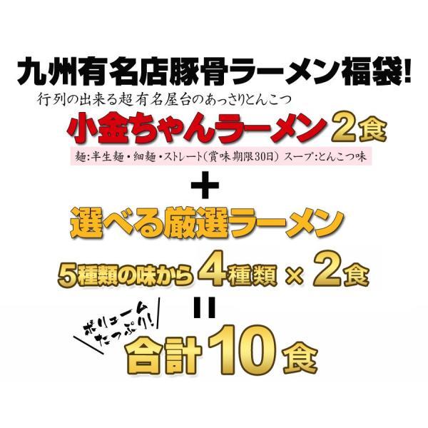 大人気ラーメン福袋 選べる九州有名店豪華とんこつラーメン福袋10食セット ご当地ラーメン|hot-emu|04