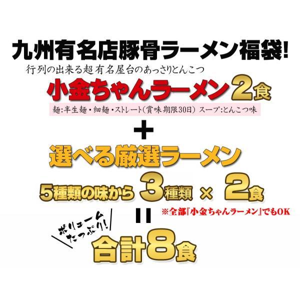 選べる九州有名店 豪華とんこつラーメン福袋8食セット ご当地ラーメン hot-emu 04