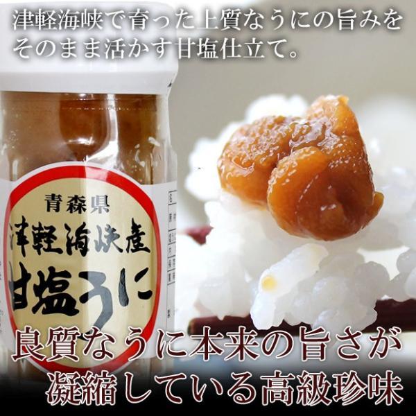 青森県産 塩うに60g入 無添加・ノンアルコールで仕上げ 解凍後はお早めにお召し上がりください hotateyasan 02