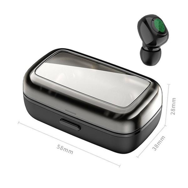 ワイヤレスイヤホン Bluetooth5.0 ブルートゥースイヤホン HiFi 高音質 ノイズキャンセリング 片/両耳対応 左右分離型 iphone Android|hotbeststore|20