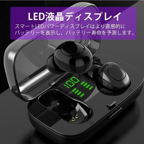 ワイヤレスイヤホン Bluetooth5.0 ブルートゥースイヤホン HiFi 高音質 ノイズキャンセリング 片/両耳対応 左右分離型 iphone Android|hotbeststore|10