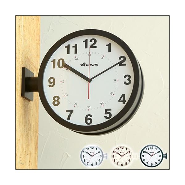 RoomClip商品情報 - Double face wall clock ダブルフェイス ウォールクロック 両面時計 S82429 ダルトン 時計 丸型 (送料無料)