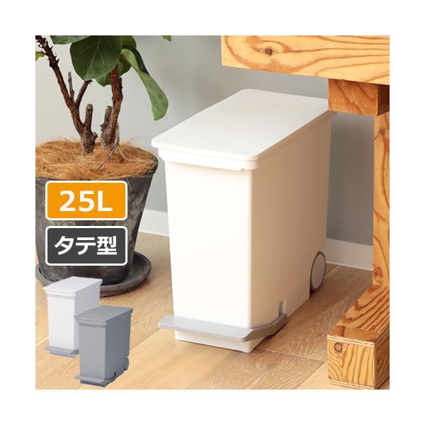 ゴミ箱 ora オルア 25 スリム タテ型分別ペダルペール LBD-13 ライクイット ごみ箱  ダストボックス ふた付き 縦型