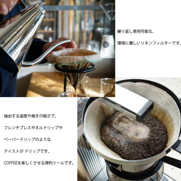 ILCANA クロスフィルター <イルカナ カラー> 3枚セット  100% リネン コーヒードリッパー フィルター 日本製 燕市 MADE IN JAPAN ILCANA イルカナ|hotcrafts|04