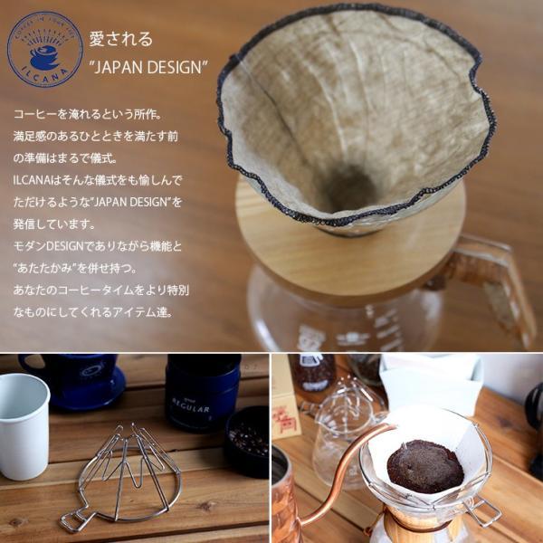 ILCANA セラミックドリッパー02 <紺青/イルカナネイビー> コーヒー coffee ドリッパー 磁器 有田焼 MADE IN JAPAN 日本製|hotcrafts|07