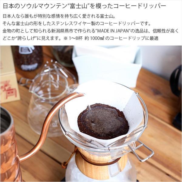 ILCANA MT.FUJI DRIPPER / 富士山ドリッパー LARGE ラージ  コーヒードリッパー フィルター 日本製 燕市 MADE IN JAPAN ILCANA イルカナ|hotcrafts|02