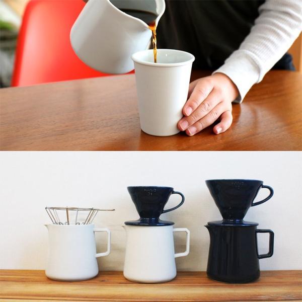 ILCANA セラミックサーバー 紺 コーヒー coffee サーバー 磁器 波佐見焼 MADE IN JAPAN 日本製|hotcrafts|05