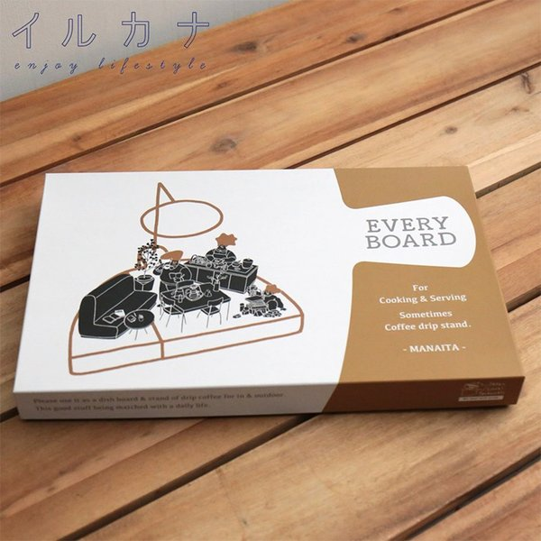 送料無料 ILCANA EVERY BOARD エブリーボード ドリップスタンド コーヒー ドリッパー カッティングボード MADE IN JAPAN 日本製 燕市|hotcrafts|05