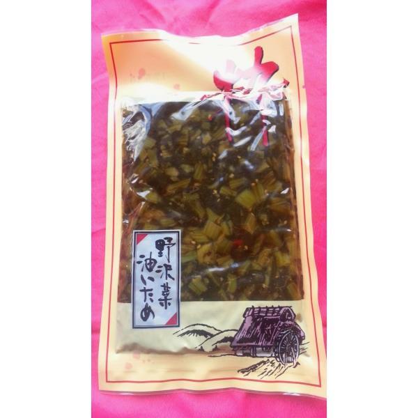 野沢菜漬セットと信州そばのセット クール便 hoteiya-net 05