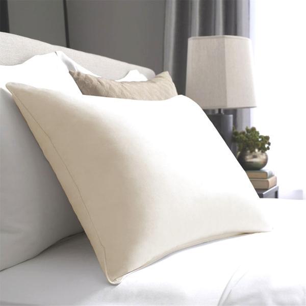 ホテルのフェザーピロー(枕)少し大きいサイズのマクラ 一流ホテルや高級旅館で採用◆安心の日本製