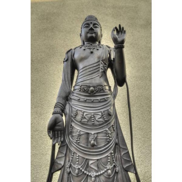 仏像 美術工芸品観音菩薩 45226仏像仏画チベット美術卸の天竺堂