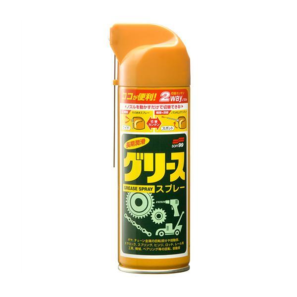 ニューグリススプレー 耐熱耐圧グリース 220ml /ソフト99 No.03022/