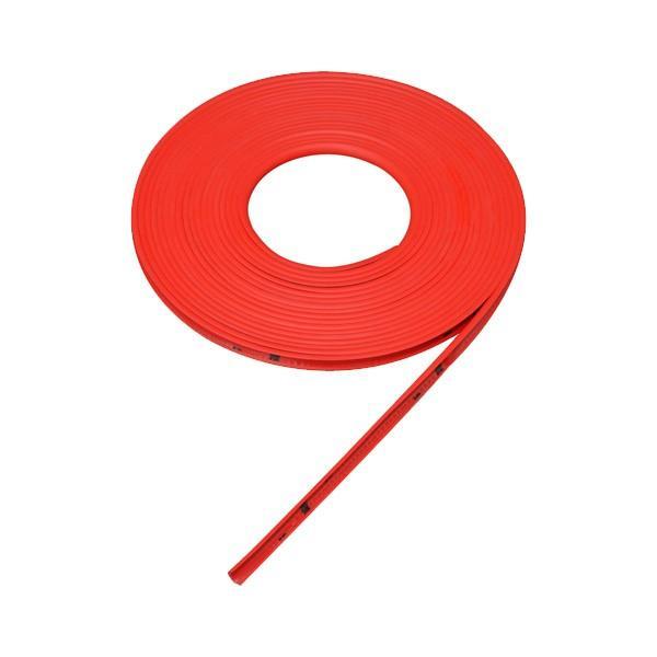セイワ:ホイールリムモール レッド 全長7m リムガード 傷防止 傷隠し ドレスアップ/K386