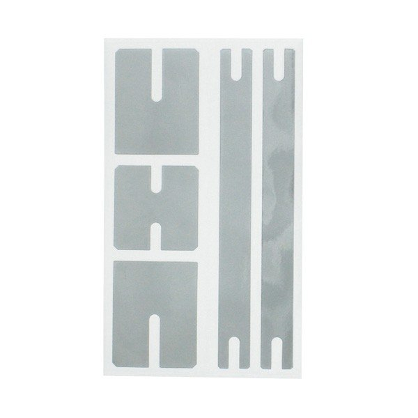 ステッカー デカール プラスイオン放電アルミシート TYPE-E ヒューズボックス ドアノブ 電装品等に 槌屋ヤック/YAC:TS265/TS-265